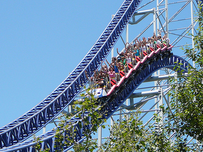 Cedar Point Roller Coaster Ride