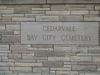 Cedarvale  Cemetery Bay  City