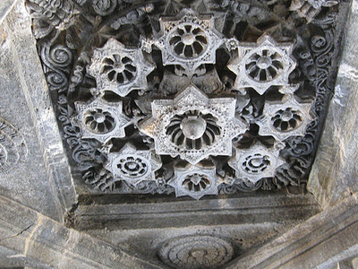 Ceiling Of Mahadev Temple