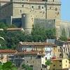Celano With The Piccolomini Castle.