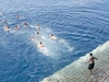 Celebes Sea - USS Essex - Swim Call