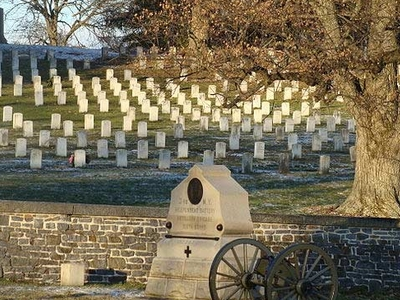 Cemetary At The Gettysburg National Military Park