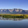 Centennial Mountains Bordering Red Rock Lakes