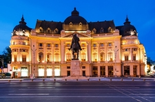 Central University Library In Bucharest - Romania