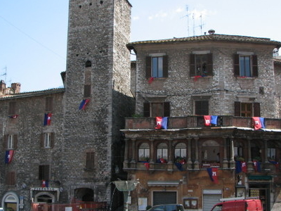 Central Square In Narni