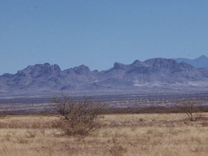 Cerro Colorado Montañas