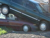 Chalmette Green Car Red Car