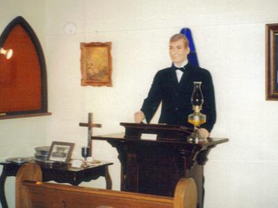 Model Chapel In White Deer Museum
