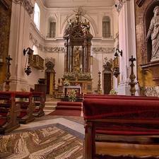 Chapel Of The Palace Portici