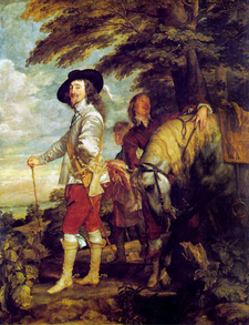 Charles I Of England Van Dyck