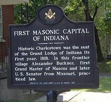 Charlestown Masonic Marker