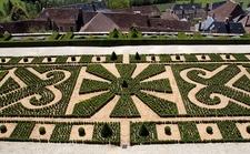 Chateau De Hautefort Formal Gardens