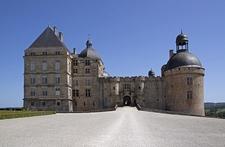 Chateau De Hautefort Main Entrance