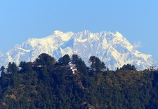 Chaukhamba Looms Above Childer's UT Himalayas