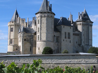 The Chateau At Saumur