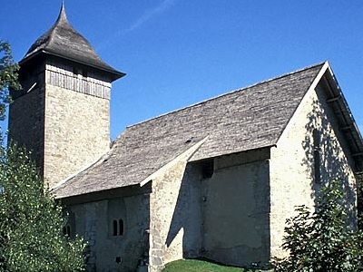Old Church In Chateau-d\'Oex