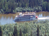 Paddle-Wheel Steamer On Chena River