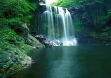 Cheonjiyeon Waterfall - Jeju Island