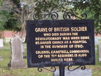 Cheraw  British  Grave