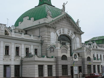 Chernivtsi  Railroad  Station