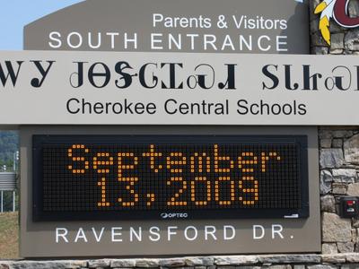 Cherokee  Central  Schools