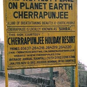 Cherrapunji Has Held The Record For Highest Rainfall