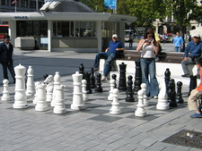 Chess In Cathedral Square