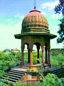 Chhatri Of Rana Udaybhanu Singh At Dholpur