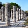 Chichen Itza Warriors Columns