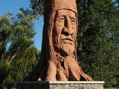 Chief  Washakie In  Murray  2 C  Utah