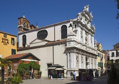 Church Of Santa Maria Zobenigo
