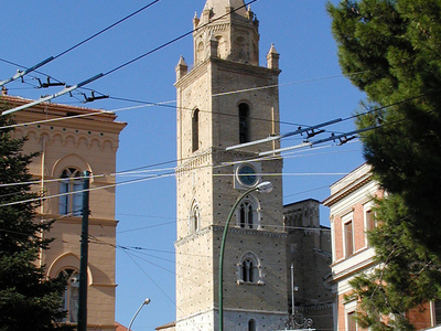 The Belltower Of The Cathedral