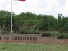 Childress   Texas Welcome Sign