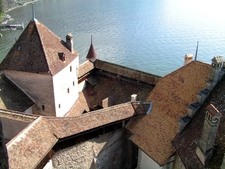 Chillon Innenansicht