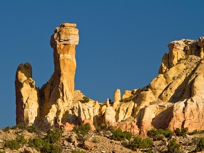 Chimney Rock Near Ghost Ranch NM