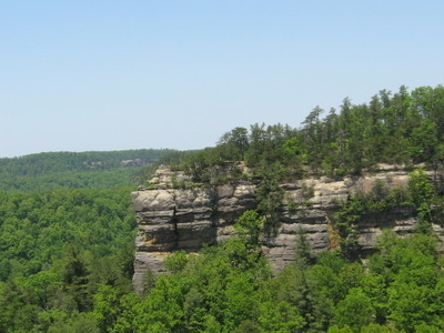 Chimney Top Rock In Red River Gorge