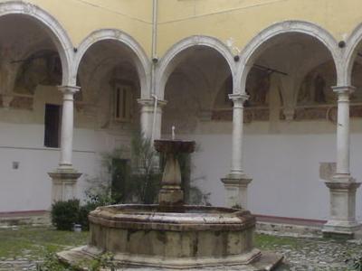 Chiostro Palazzo Di Citta