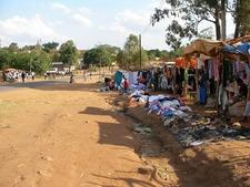 Chipata Roadside Clothes Vendors