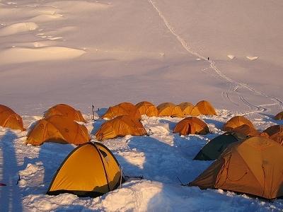 Cho Oyu Camp View - Nepal Himalayas