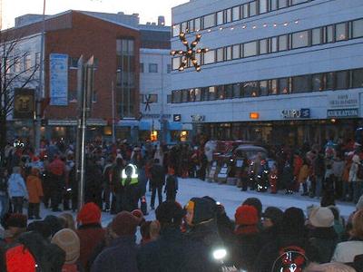 Christmas Celebration In Rovaniemi