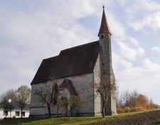 Church At Oberrohr, Upper Austria, Austria