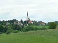 Church At Stroheim, Upper Austria, Austria