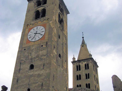 The Romanesque Clock Towers