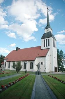 Church In Kuusamo - Finland