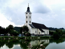 Church In Schönau, Upper Austria, Austria
