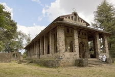 Church Of Debra Berhan Selassie In Gondar ET