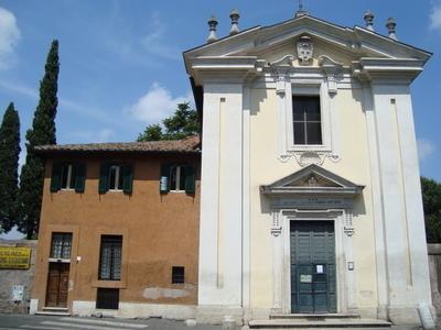 Church Of Domine Quo Vadis