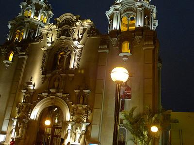 Church Of Miraflores - Lima