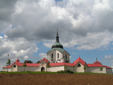 Church Of St John Of Nepomuk At Zelena Aora