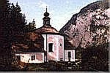 Church On The Kalvarienberg In Hallstatt
